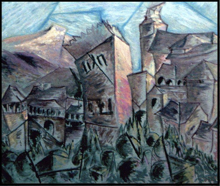 Alhambra al 'expresionismo cubista' que no se siquiera si eso existe.