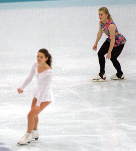 Before the 1994 US Skating Championships, three men, including the ex-husband of Tonia Harding, the 1991 champion, tried to break the leg of...