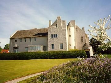 Hill House by Charles Rennie Mackintosh, Helensburgh, Scotland.