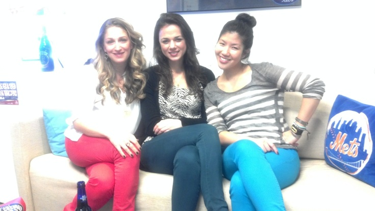 to the colored pants party!