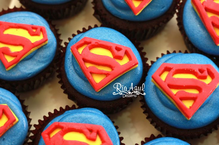Superman Cake Ideas Cupcakes 118973 Superman Cupcakes Supe