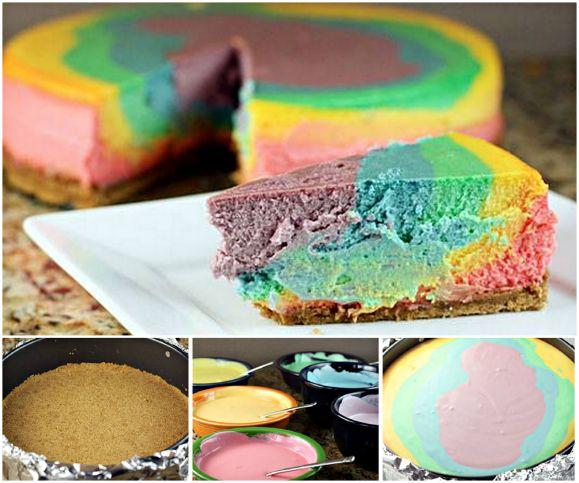 truffles rainbow cheesecake rainbow cupcakes dump cakes cheesecake ...