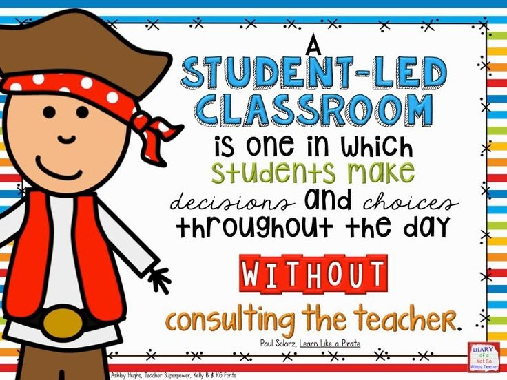 Diary of a Not So Wimpy Teacher: Learn Like a Pirate: What is a Student-Led Classroom?