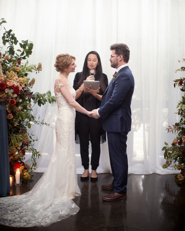 Looking Forward To Being Back At The Foundry Today With Modernrebelandco To Celebrate An Awesome Couple Heres A Throwbac Wedding Officiant Nyc Wedding Wedding
