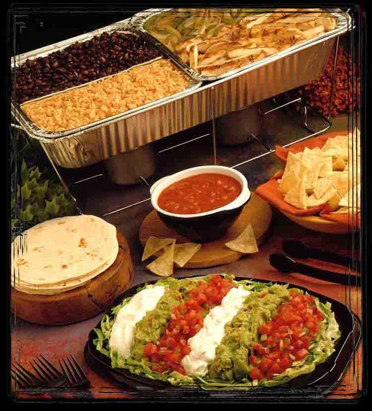 Fajita buffet