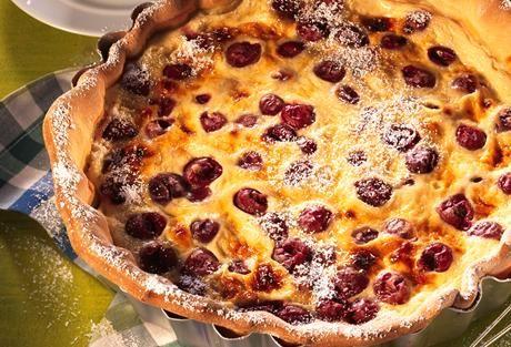 Einfach Lecker » Schweizer Kirsch-Quark Kuchen (Kirschwähe) » Finden Sie leckere Rezeptideen für jeden Tag, die Ihnen das tägliche Kochen leichter machen. » Einfach Lecker