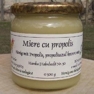 Miere ecologica cu propolis pt intarirea sistemului imunitar, pentru combaterea infectiilor respiratorii si intestinale. http://www.cosulbio.ro/cumpara/miere-ecologica-cu-propolis-2015576