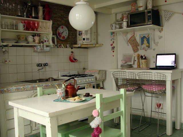 Inspirações Cozinha, Decoração,Casa, Cozinha Retrô