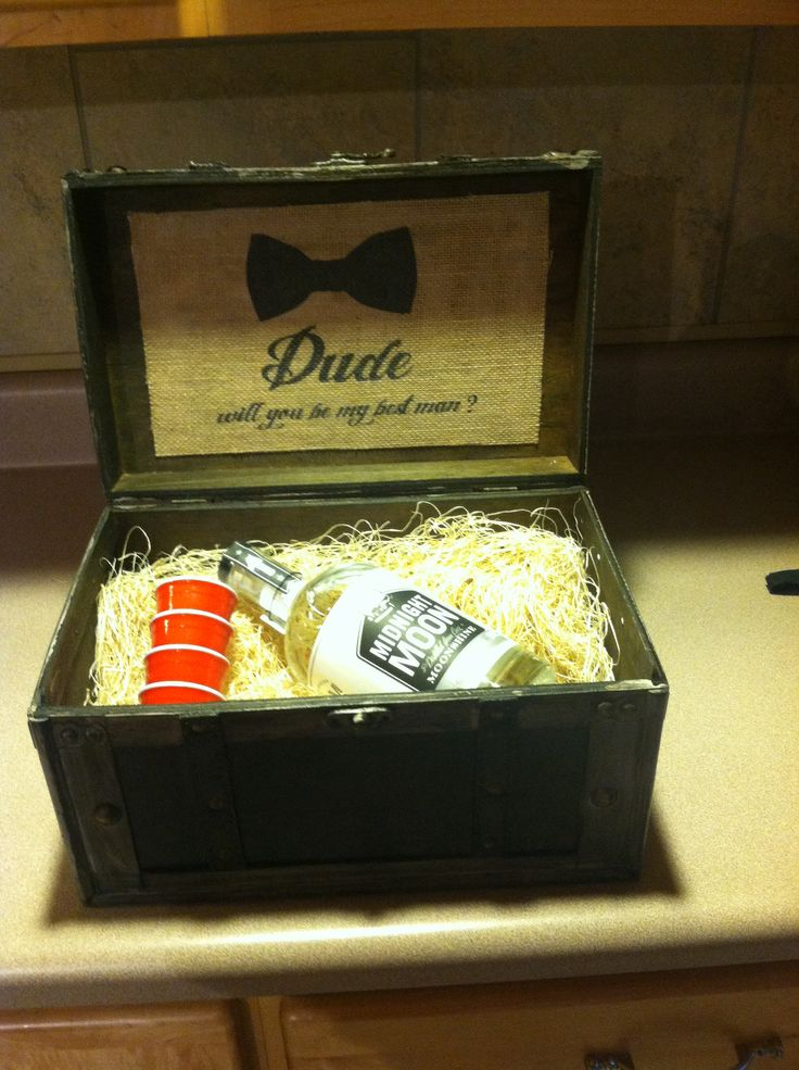 A Great Way To Ask Someone Be Your Best Man