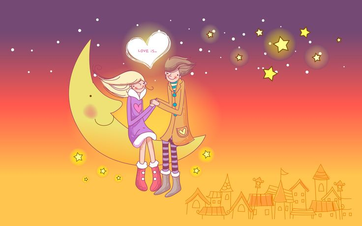 Cartoon Love Couples Hd Wallpapers love Pinterest