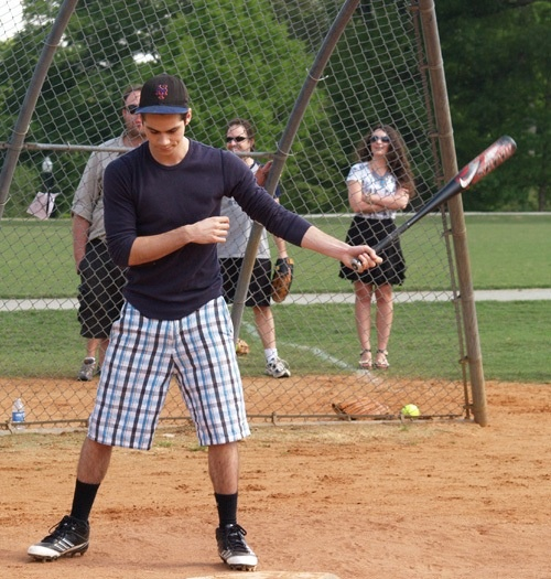 dylan o'brien + baseball = <3