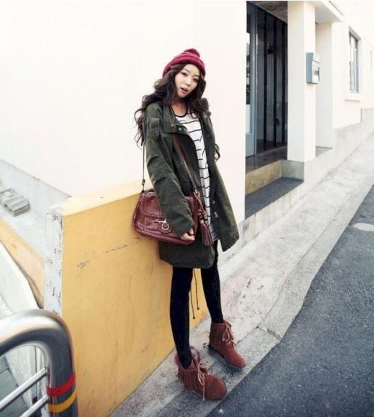 51 koreanische Wintermode-Ideen zum Kopieren   Business Outfits f8ba791ff0