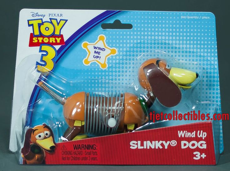 Toy Story 3 Slinky Dog Wind Up 2009 Sealed #DisneyPixar