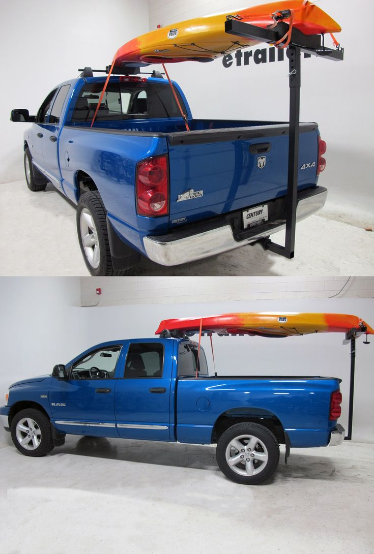 how to carry kayaks with a fifth wheel