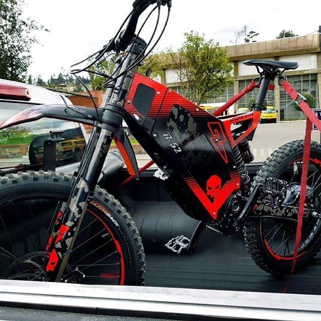 Black Red B52 Looks Great Bike Design Electric Bike Stealth Bomber