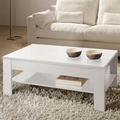Best 25 table basse relevable ideas on pinterest table basse modulable ta - Table basse blanche relevable ...