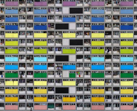 Dense City: Photos Show Tightly-Packed Hong Kong Towers (Ph. Michael Wolf)