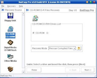 Read Scratched CD by Badcopy Software | Bad Copy Free Download | TechnoSheet