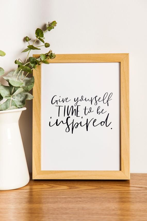 Home Wall Art Quote Inspirational