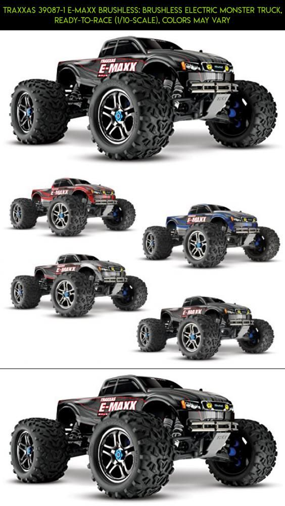 Traxxas 39087-1 E-Maxx Brushless: Brushless Electric Monster Truck, Ready-To-Race (1/10-Scale), Colors May Vary #technology #gadgets #parts #shopping #racing #drone #plans #emaxx #camera #products #traxxas #fpv #tech #kit