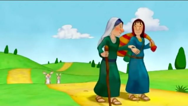 57 best bible ruth images on pinterest school sunday - Pagine da colorare ruth e naomi ...