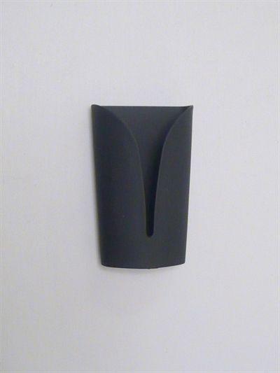 Confetti håndklæde/viskestykke holder, mat sort stål, stærkt selvklæbende ( egnet til glatte, faste, rene flader ).