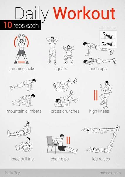 Routines Exercise Beginners