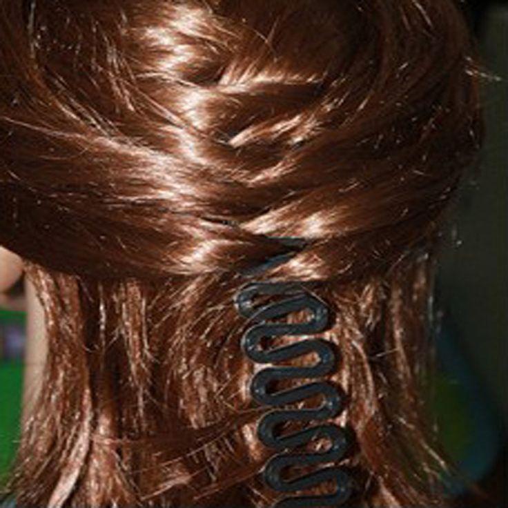 3 50pcsfashionヘアツイストスタイリングバンメーカーでマジックヘアアクセサリーツイストスタイリングおだんごガム用ヘアスタイリング髪型メーカー