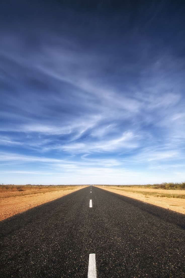 'Road to Nowhere', Australia, Alice Springs to Uluru, Outback