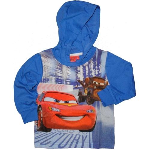 #Maglia con #Cappuccio #Bambino #Disney #Cars http://www.allegribriganti.it/bambino/maglia-con-cappuccio-bambino-disney-cars-blu-e-azzurra/