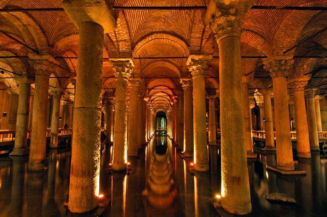 Basilica Cistern in İstanbul - Turkey