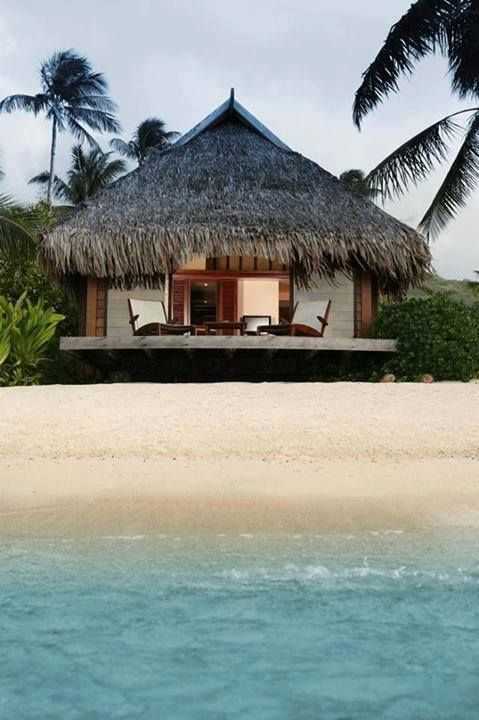 487 best tropical style decor images on pinterest for Beach hut style