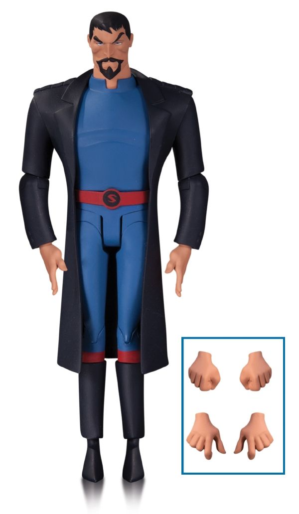 #transformer ko justice league: gods & monsters ~ superman [action figure] by dc collectibles