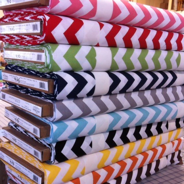 Chevron fabric from Riley Blake, and other great fabrics