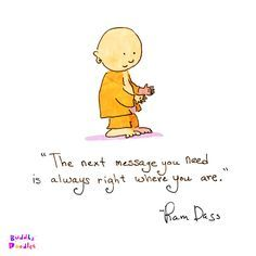 Buddha Doodles - 'Right Where You Are'by Mollycules