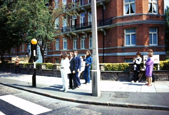 The Beatles at there Abbey Road photo shoot . by BJPhotoPrints