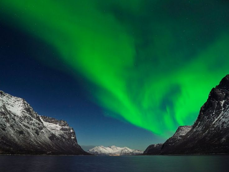 """""""Travel to Tromsø, in northern Norway, to see the aurora borealis.""""—Billie Cohen, Web Editor"""