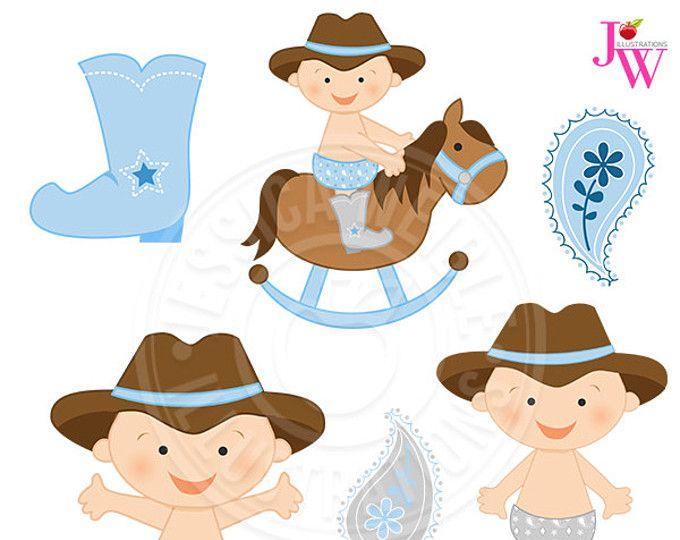 Luz azul vaquero bebé lindo gráfico Digital, Linda bebé vaquero Clip Art, Clipart de vaquero, bebé gráficos, Imágenes Prediseñadas, sombrero de vaquero bebé, caballo del bebé