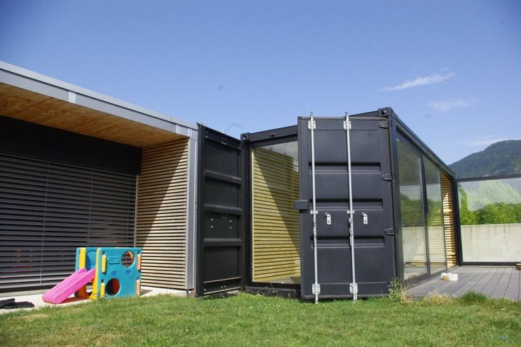 Container extension residential pinterest projects for Maison container gard