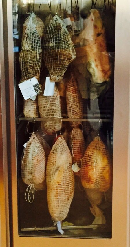 #homemade #Prosciutto we have #pork #Venison and #Kangaroo  And now we wait... Our prosciutto installation will be showing at our #Sausage HQ for the next few months  come in and visit