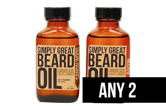 ANY 2 - Beard Oil Gifts  For Men Formulated with Natural and Organic Base Oils Great Gift for Groomsmen or Him