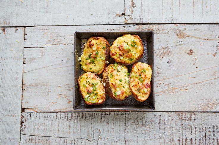 Изображение рецепта Запечённый картофель с ветчиной и горчицей