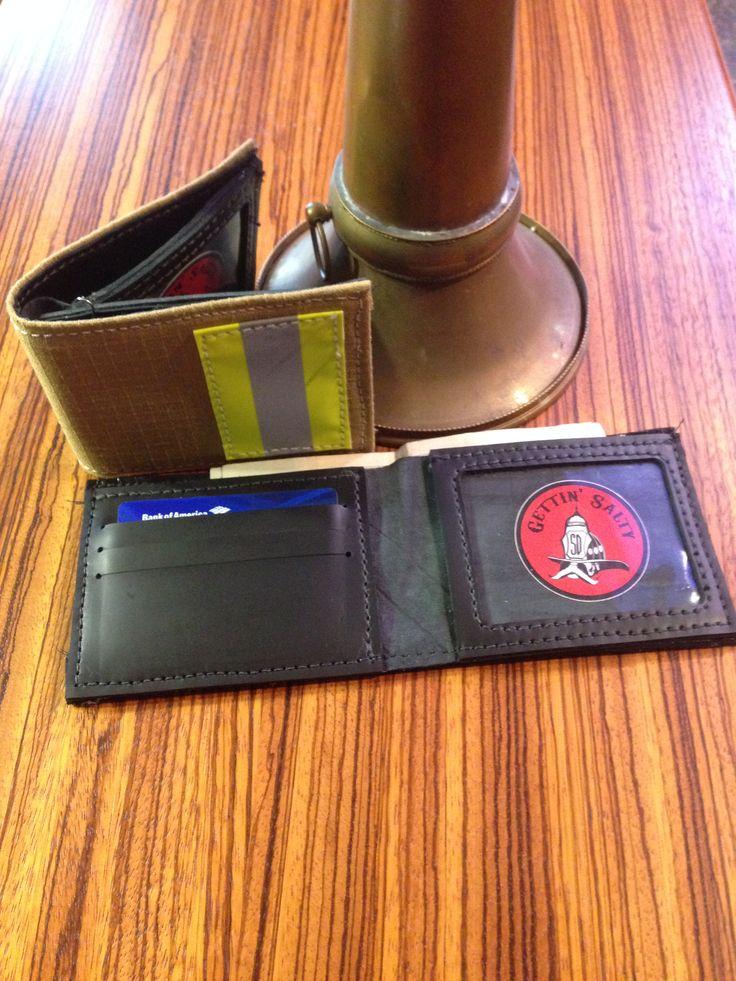 Firefighter Bunker gear wallet - perfect firefighter gift