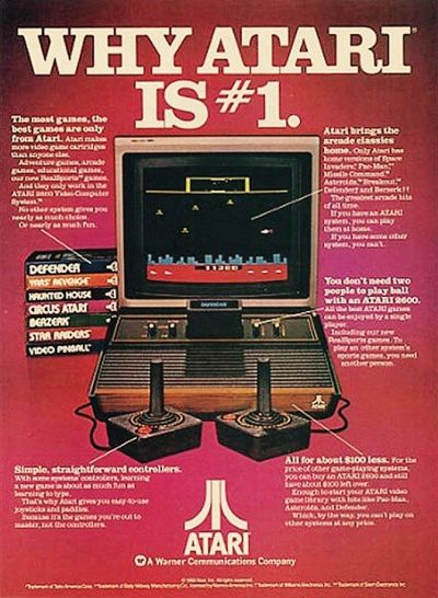 75f6aae08218 Old Atari Ad. Remember how cool the kid down the block who had one of these  was