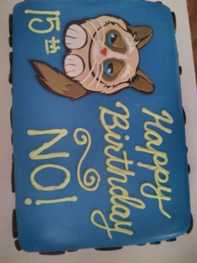 7 best grumpy cat cakes images on Pinterest Grumpy cat cakes Cat