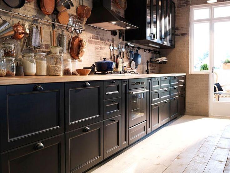 cool le retour du meuble de mtier with photos cuisines ikea. Black Bedroom Furniture Sets. Home Design Ideas