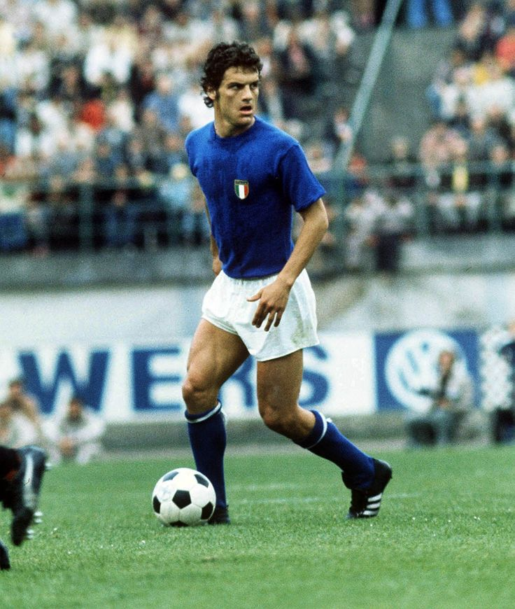 Fabio Capello during his playing days. Many forget he was a great player before he became an elite manager.