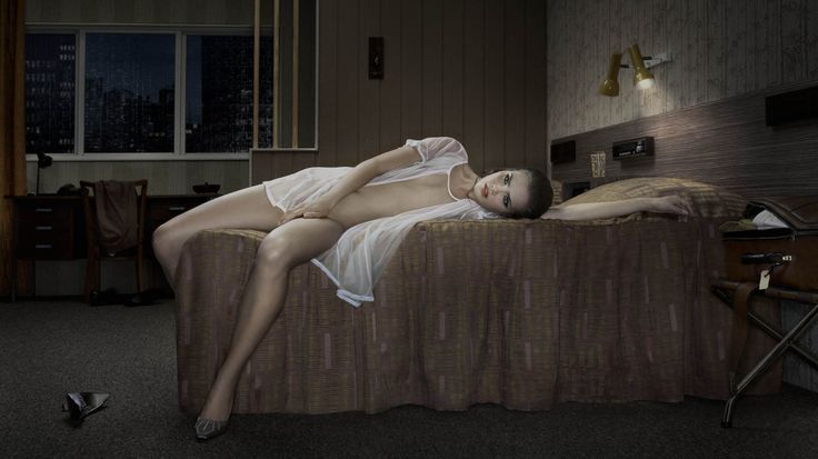 Erwin Olaf, Title: Hotel Kyoto, room 211 Print size: ca. 100 x 178 cm 2007