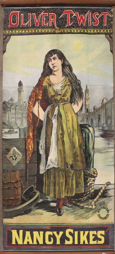 nancy from oliver twist Illustrations   Vintage Poster, Oliver Twist, Nancy Sikes