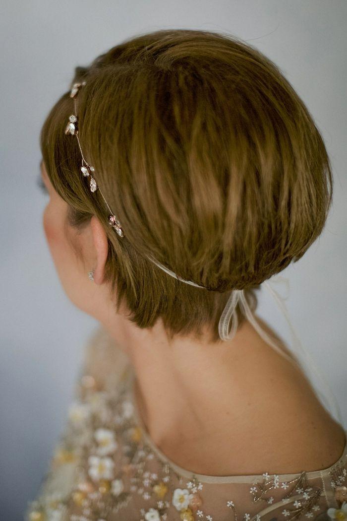 1001 Idees Pour Une Coiffure Mariage Cheveux Courts Les